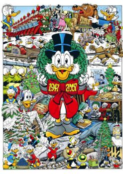DON ROSA PORTFOLIO 60 Years Of Scrooge McDuck signed limited 222 Ex.